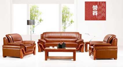 ghế sofa da MS 1
