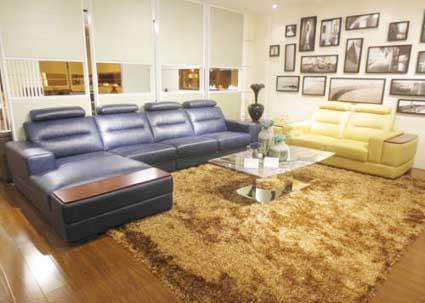 ghế sofa da MS 4