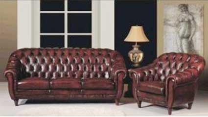 ghế sofa da MS 5