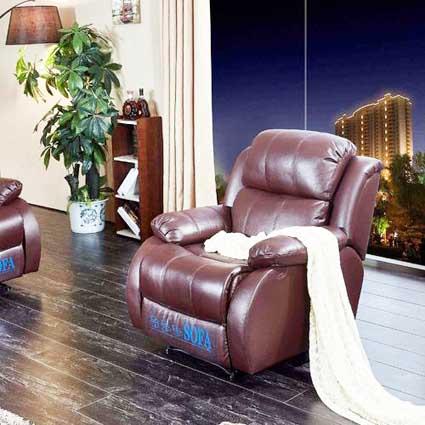 ghế sofa da MS 6