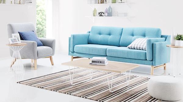 ghế sofa vải