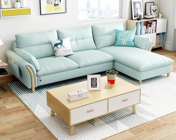 cách sử dụng và bảo quản ghế sofa vải nỉ tốt